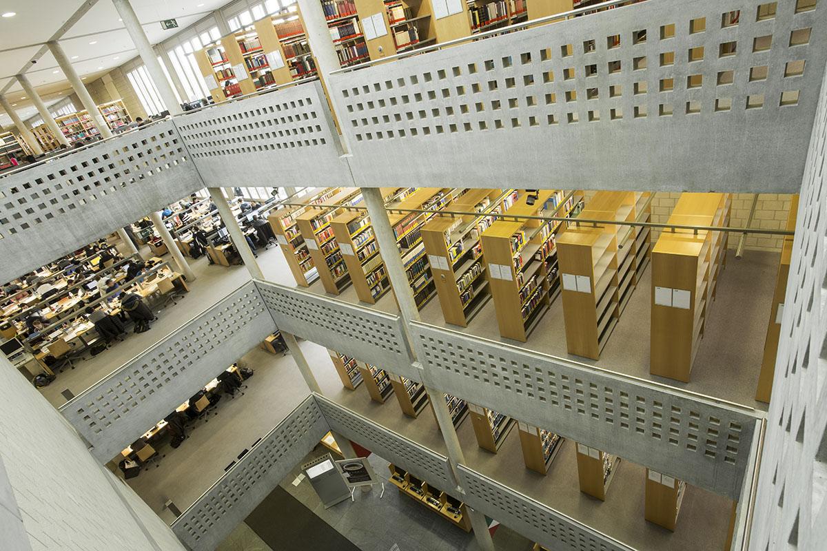 Kennenlernen in der bibliothek