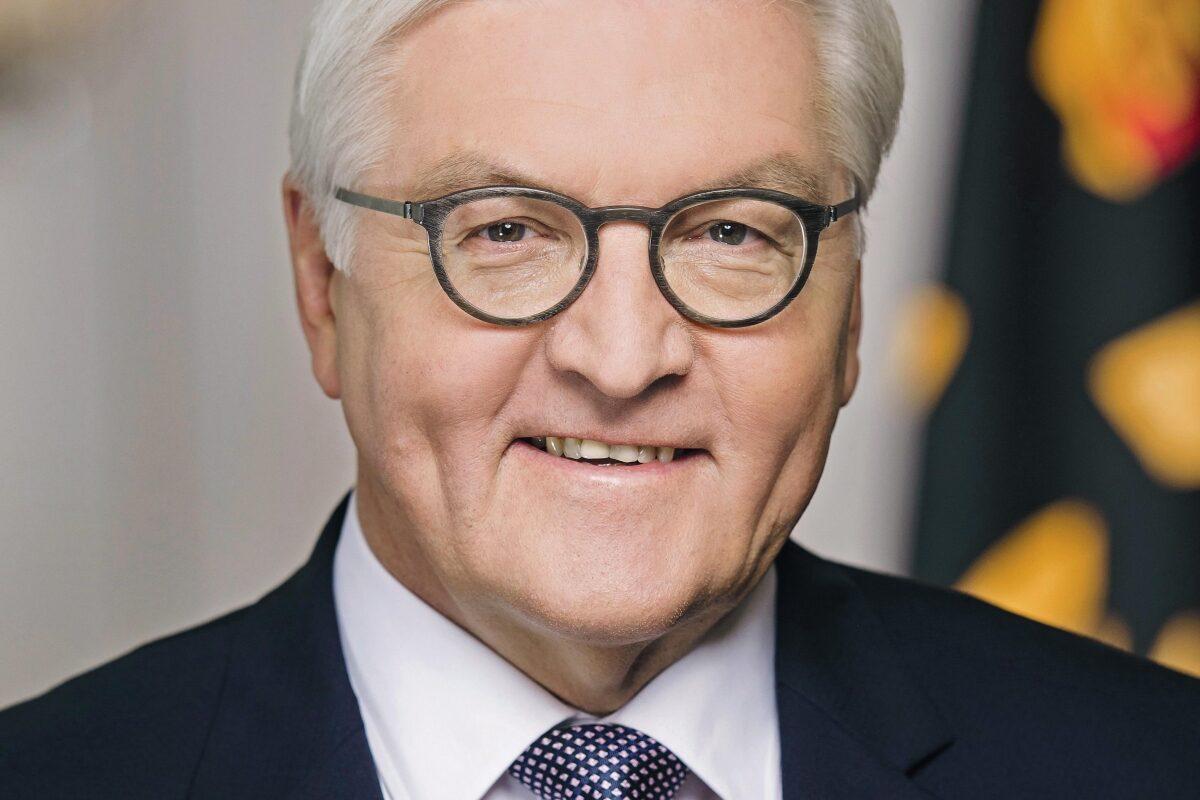 Porträt von Bundespräsident Steinmeier.Foto: Bundesregierung/Steffen Kugler